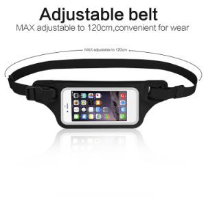 New Ipx8 Waterproof Gym Reflective Waist Belt with Finger Scan pictures & photos