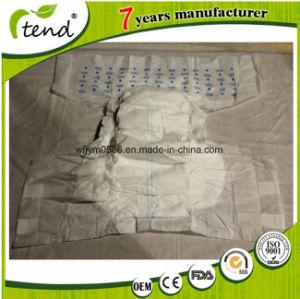 Grandpa Grandma Printed Magic Tape Adult Diaper Manafacture pictures & photos