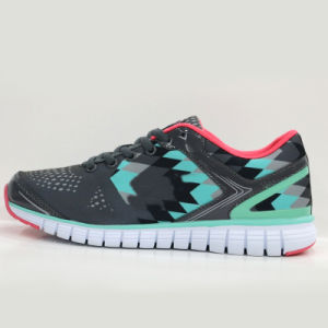 Wholesale Prices Custom Design Black Men Sports Shoe Running Shoe pictures & photos