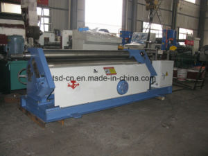 3-Roll Small Plate Rolling Roll Machine with Prebending (W11F-2X1500) pictures & photos