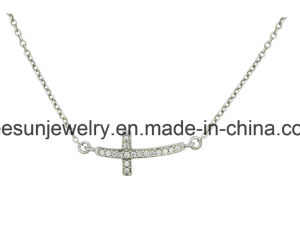 Hotselling Fashion Silver Jewelry Cross Necklace pictures & photos