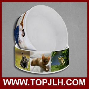 Heat Transfer Sublimation Ceramic Dog Bowl pictures & photos