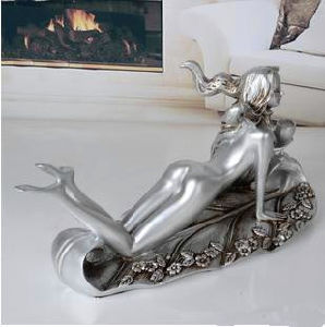 Resin and Metal Customized Wine Holder for Home Decor pictures & photos
