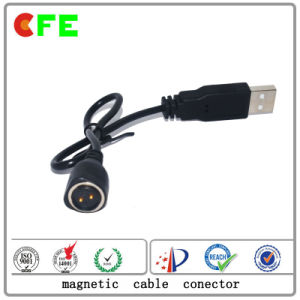 2pin Waterproof Waterproof Magnetic Cable Connector for Smart Watch pictures & photos