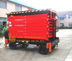 300kg 18m Hydraulic Aerial Working Platform (SJY0.3-18) pictures & photos