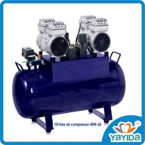 Low Noise Dental Oil Free Air Compressor for 4 Chair pictures & photos