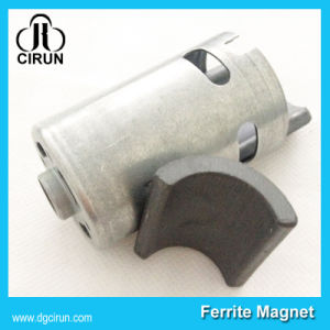 Free Energy Arc Shape Hard Permanent Ceramic Motor Ferrite Magnet pictures & photos
