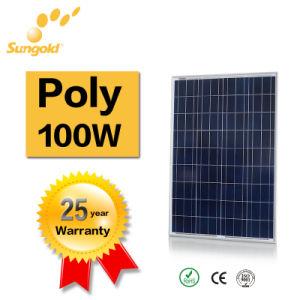 Price Per Watt Solar Panels 100W 18V Polycrystalline