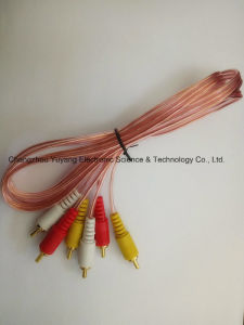 3r to 3r AV/Aduio and Video Cable pictures & photos