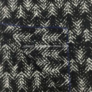 Loop Herringbone Jacquard Wool Fabric Ready pictures & photos