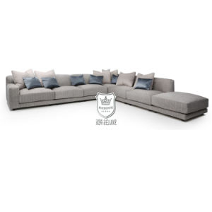 Large Size L Shape Fabric Sofa Sets Living Room Furniture pictures & photos