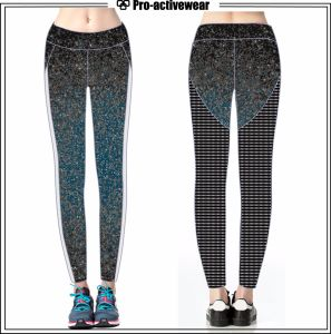 Sportswear Fashinable Design Wholesale Custom Colorful High Quality Stretch Leggings pictures & photos