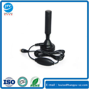 Active 18dB Magnetic Base UHF DVB T Antenna Rg58 Cable pictures & photos