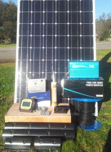 Solar Kit for Caravans&Boats /Pure Sine Inverter/20A MPPT/Panels &Mounts pictures & photos