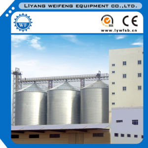 Hot Ganlvanized Steel Grain Storage Silo for Animal Feed Mill pictures & photos