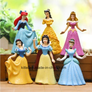 Environmental Customized Plastic Toys, Plastic Figure for Girls