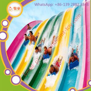 Promotion Selling Colorful Bright Rainbow Water Park Slide pictures & photos