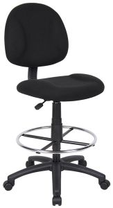 Black Fabric Office Chair with High Swivel Foot Sz-Oc93 pictures & photos