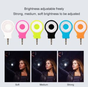 Rechargeable LED Selfie Flash Light for Camera Smartphones pictures & photos