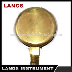 "021 2.5"" Cast Brass Pressure Gauge pictures & photos"