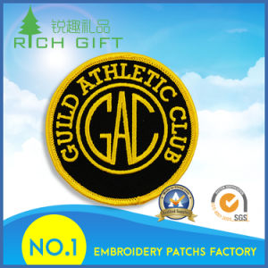 Custom All Kinds High Quality Cheap Fine Embroidery Patches pictures & photos