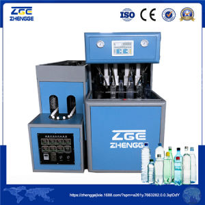 Semi Automatic Plastic Stretch Blow Molding Machine for Pet Bottle pictures & photos
