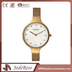 Ladies Large Round Dial Waterproof Watch pictures & photos