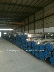 Black Carbon Steel Seamless Pipe and Tube pictures & photos