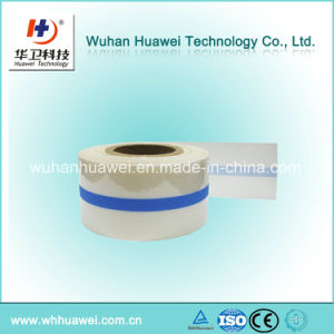 Medical PU Film Roll Raw Material with S Line Cutting Linier for Transparent Wound Dressing pictures & photos
