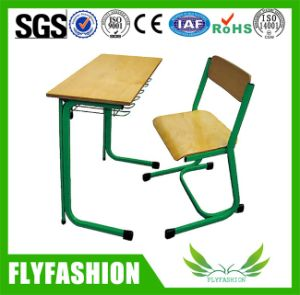 Cheap Classroom Furniture Plywood Student Desk and Chair Set pictures & photos