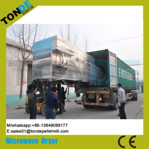 Stainless Steel Flower Tea Microwave Sterilization Drying Machine pictures & photos
