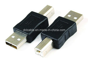 USB2.0 a Female to B Male Adapter pictures & photos