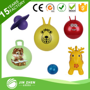 No4-21 Hopping Bounce Ball Skipping Ball Hop Jumping Ball with Handle pictures & photos