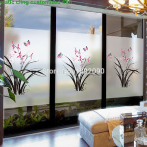 Top Popular High Quality Self Adhesive Decorative Window Film pictures & photos