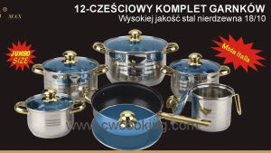 Kitchenware-12PCS Stainless Steel Cookware pictures & photos
