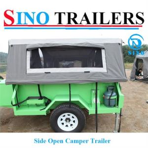 Portable Side Open Camper Trailer pictures & photos