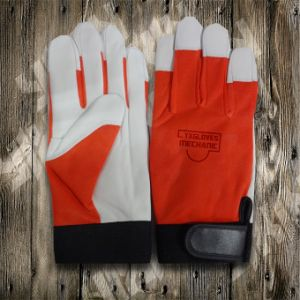Work Gloves-Protected Glove-Sheep Leather Glove-Labor Glove-Working Leather Glove pictures & photos