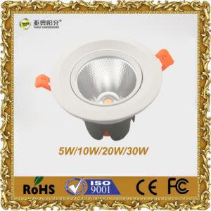 LED Recessed Light Manufacturer 30W COB Downlight