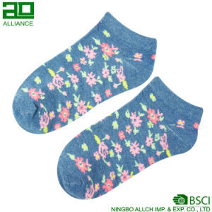 China Factory Wholesale Custom Cotton Ankle Socks pictures & photos