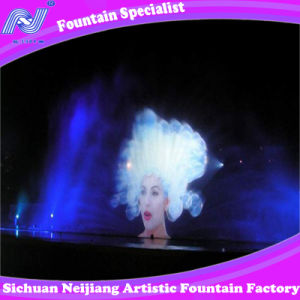 Water Screen Movie with Laser Curtain /Music Fountain Engineering pictures & photos