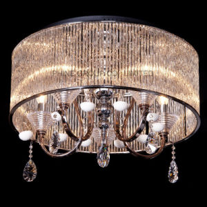 LED Round Modern Crystal Reading Room Indoor Decorative UL Ceiling Lamp pictures & photos