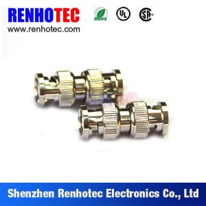 Straight Connector Apater BNC Male to BNC Male Coupler pictures & photos