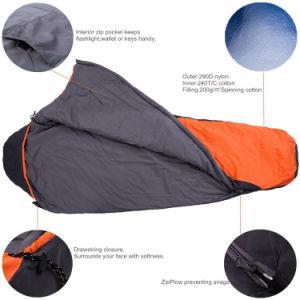 Sleeping Bag Double Sleeping Bag Camping Sleeping Bag Mummy Sleeping Bag pictures & photos