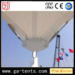 School Permanent Structure Garage Shade Tent with 1100g/Sqm PVDF for 24cars pictures & photos