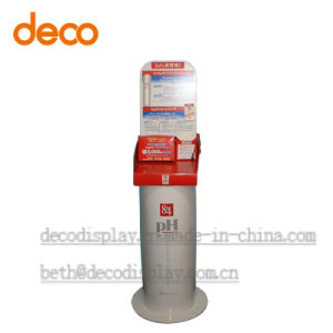 Paper Floor Display Cardboard Exhibition Stand for Advertising pictures & photos