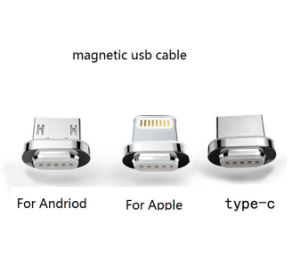 2 in 1 Magnetic USB Charging Cable with Nylon Jacket for Ios and Android Phones pictures & photos