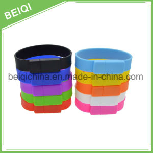 Hot Sale Customized Promotion Wristband Flash Memory USB Stick pictures & photos