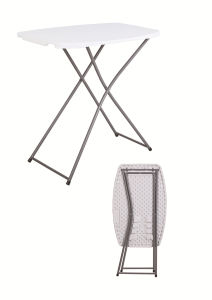 2017 New Collection of The Adjustable Plastic Folding Table