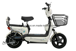 Electric Scooter E Road Electric Bike with Pedal pictures & photos