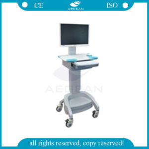 AG-Wt002b with Battery Height Adjustable Medical Trolley pictures & photos